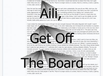Aili Get Off The Board
