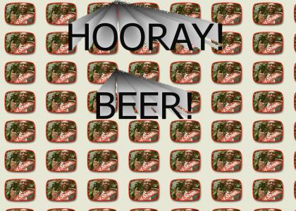 Hooray! Beer!