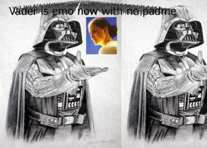 Vader's Emo Without Padme