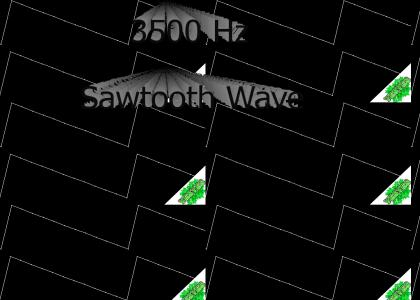 YESYES: 3500Hz Sawtooth Wave