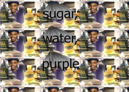 I want that purple stuff!