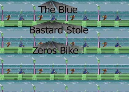 MegaMan X Stole Zero's Bike