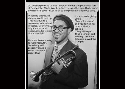 Legends of Jazz- #10: Dizzy Gillespie (Not Funny)