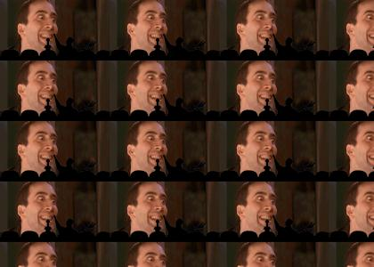 Nicolas Cage Stares down MST3000