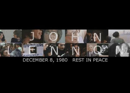 JOHN LENNON December 8, 1980