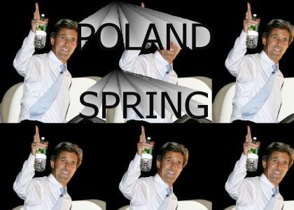 John Kerry has a favorite drink