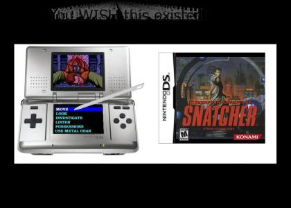 Snatcher for Nintendo DS