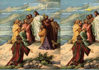 Jesus, lol! :D