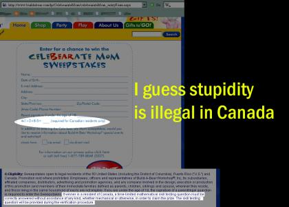 Stupidity Banned In Canada
