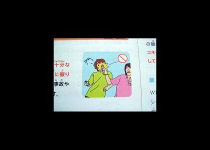 Super-Safe Japanese Wii Manual
