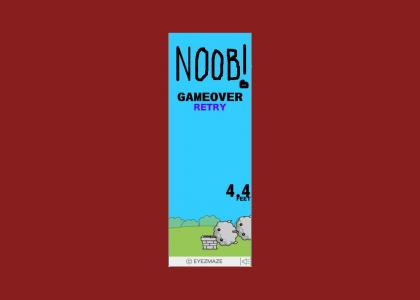 noob vader says: Noooooo!