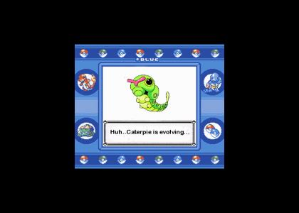 Caterpie Is Evolving!