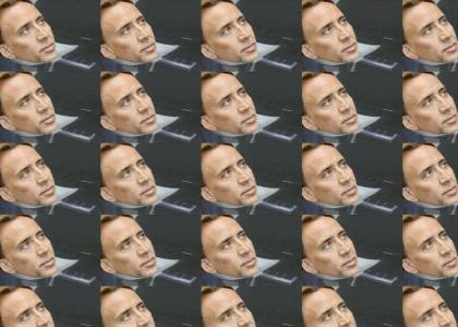 Nicolas Cage Kills Moon Man With Solar Flares