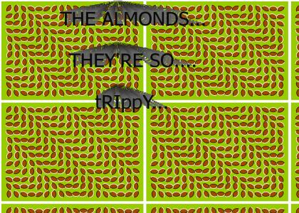 I heart trippy almonds