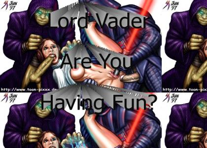 Vader and Leia have Sex!