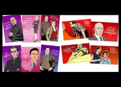 Law & Order SVU Valentines Cards (Now With SVU Theme)