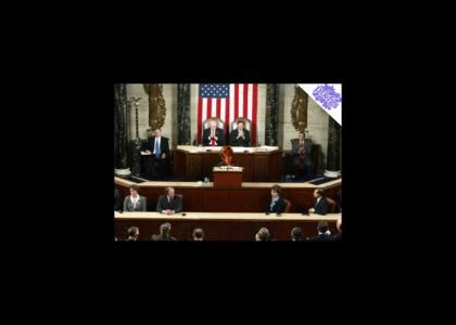Mikey addresses congress