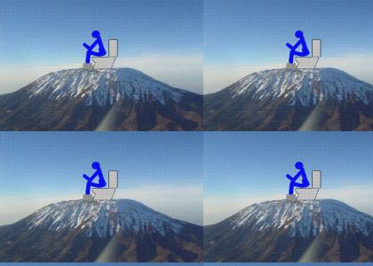 I'm CRAPin' on the top of Kilimanjaro
