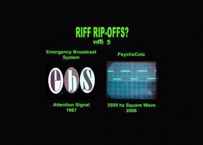Riff Rip-Offs Vol 30s. EBS vs. PC