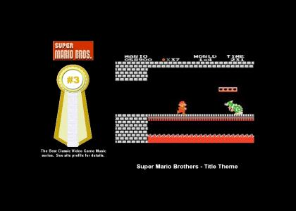 Super Mario Brothers - Title Theme (#3 Best Classic Video Game Music)