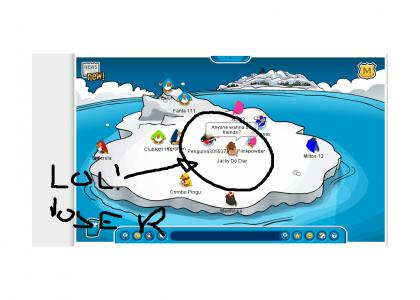 Club Penguin is full of losers