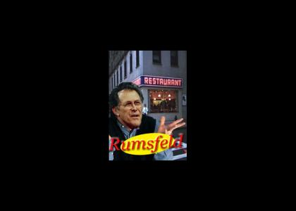 What's Rumsfeld Up To Now?  **new sound**