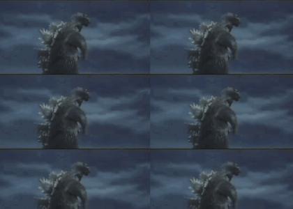 Dramatic Godzilla