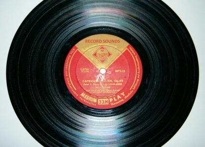 record sounds: the record