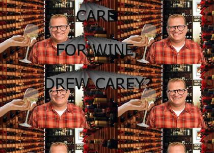 Care for wine, Drew Carey?