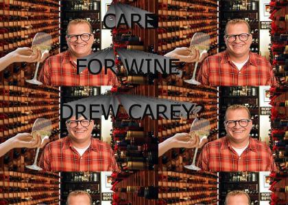 Care for wine, Drew Carey?