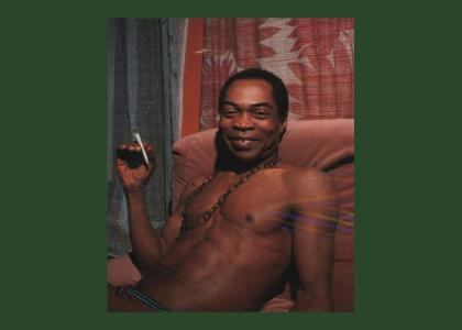 Fela Kuti Stares Into Your Soul