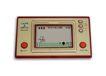 Curb-Stomp Game & Watch