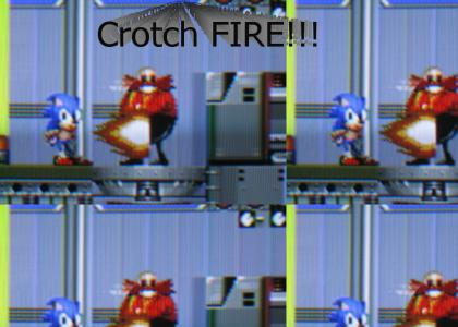 Crotch Fire!