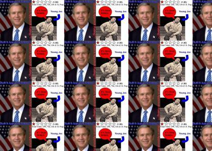 Bush's Approval Rating