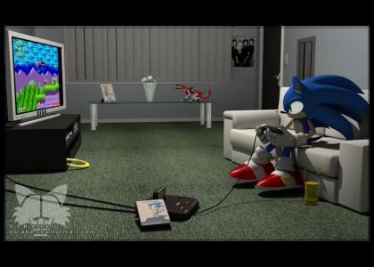 Sonic plays sonic(edit)