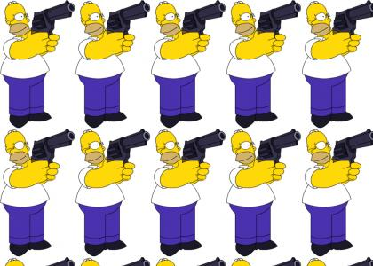 Homer: A gun is not a weapon