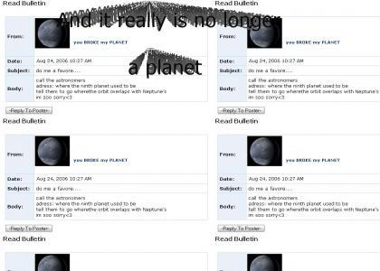 Pluto Emo MySpace Suicide