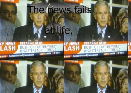Bush: One of the worst distasters to hit the U.S?