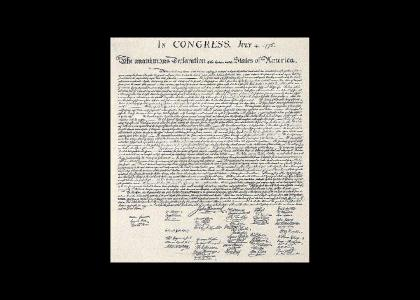 A Unanimous Declaration : July 4th, 1776
