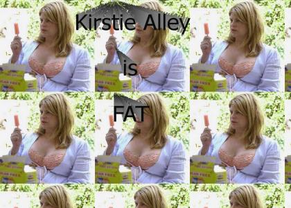 Kirstie Alley is Fat