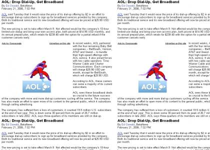 AOL, welcome to die! (AKA, another reason why AOL fails)
