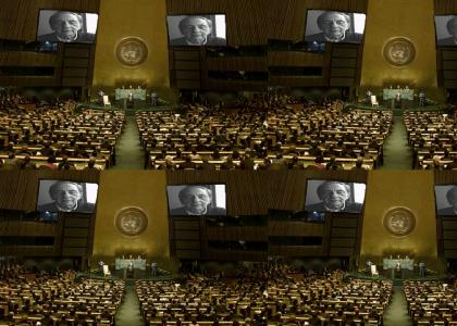 Rick addresses the United Nations UN
