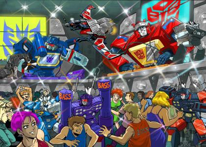Transformers Funk Party