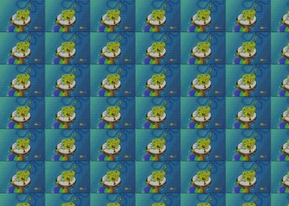 sponge bob on gayfuel