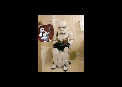 Stormtrooper thinks it over...