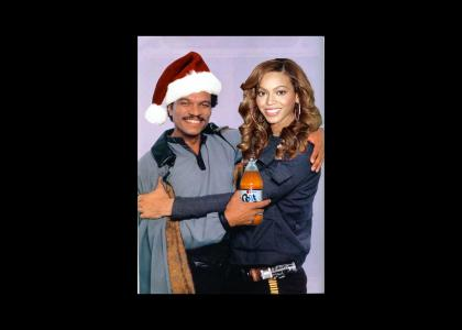 Lando wishes you all a Merry Christmas