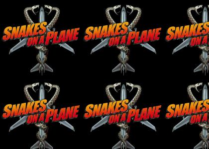 Snakes on a Plane Theme & Logo