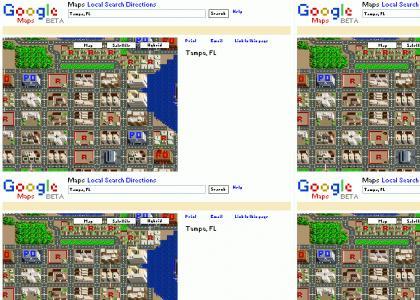 Google 8-bit maps