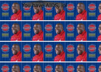 Magic Johnson stop laughing...