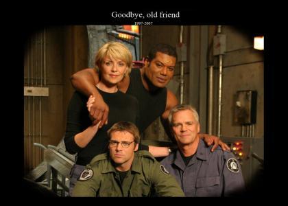 R.I.P. Stargate SG-1